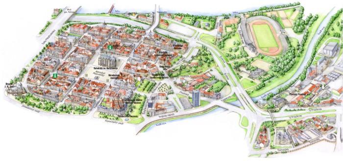 Perspective Maps Ramap Plzen